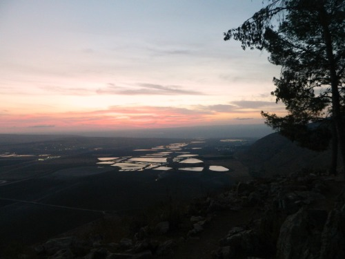 Sunrise on Mount Gilboa