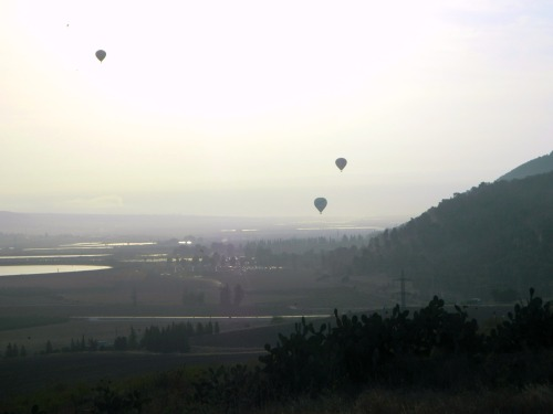 The balloons from Tel Yizrael