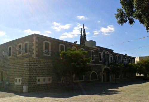 Basalt Ottoman building