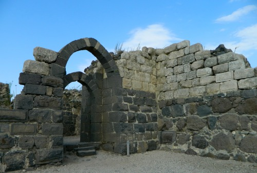 Entrance to the keep