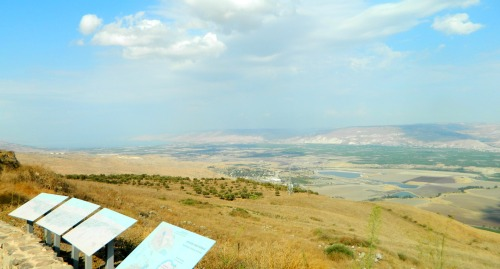 Lookout over the Jordan River Valley