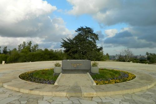 Herzl's grave