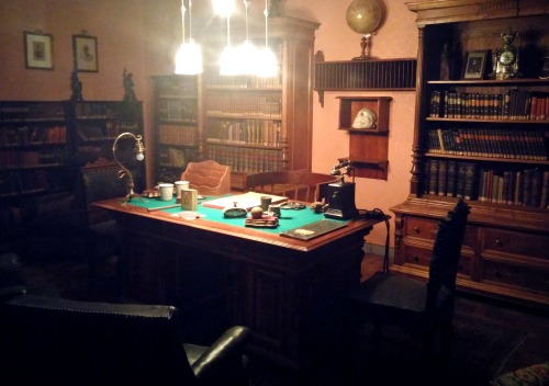 Herzl's private office