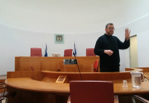 Nir in Courtroom Daled
