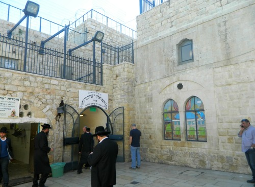 Kever of Rashbi and son