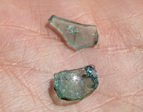 Ancient glass bits