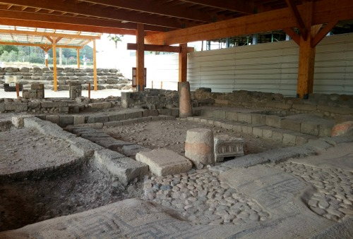 Magdala's ancient synagogue