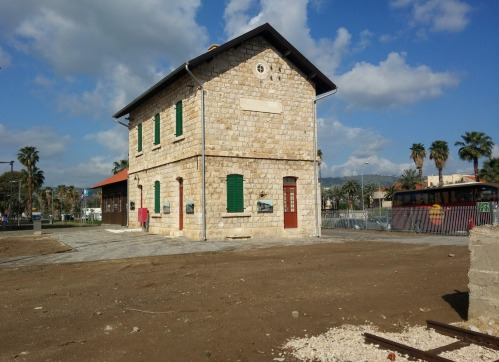 Restored station building of Samakh (Tzemach)