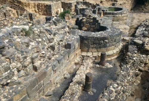 Roman gate and Byzantine wall outside the drainage canal