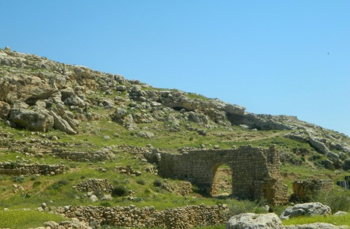 Roman or Ottoman aqueduct and bridge