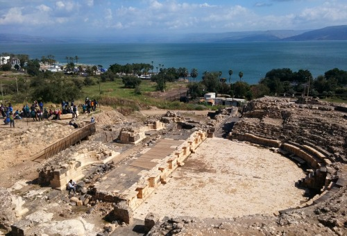 Roman theatre and the Kinneret