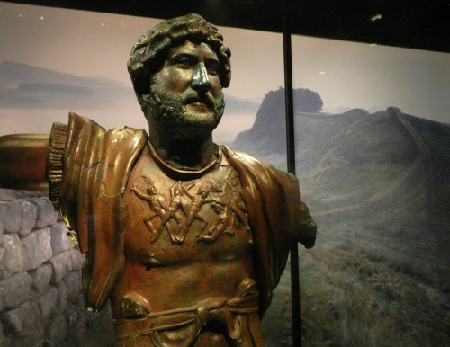 Bronze cuirassed statue of Hadrian from the Bet Shean Valley
