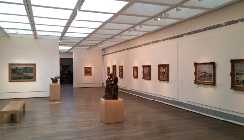 Inside the Fine Arts wing