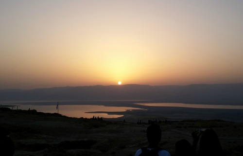 Sunrise on Masada