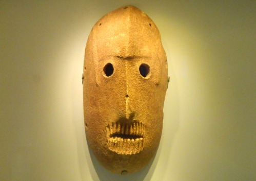 Tahunian mask from the Judean Hills