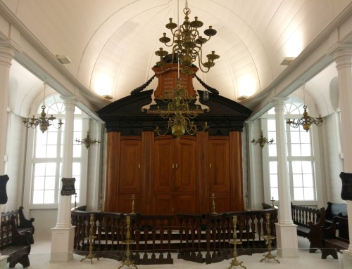 The Tzedek ve-Shalom Synagogue, Paramaribo, Suriname