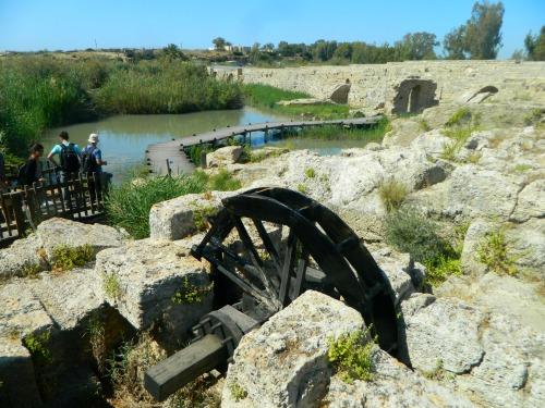 Byzantine waterworks at Nachal Taninim