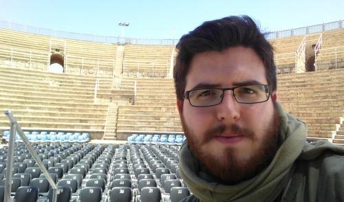 Caesarea's Roman theatre and I