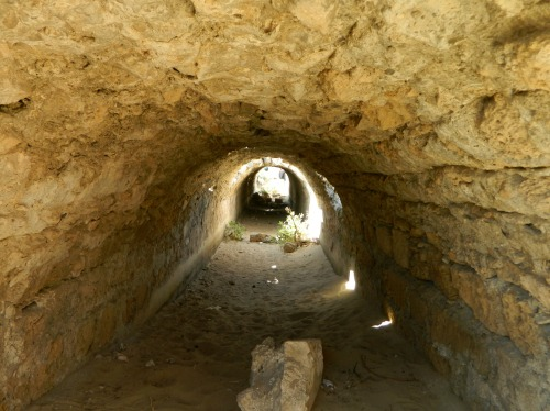 Within the smaller, Byzantine aqueduct