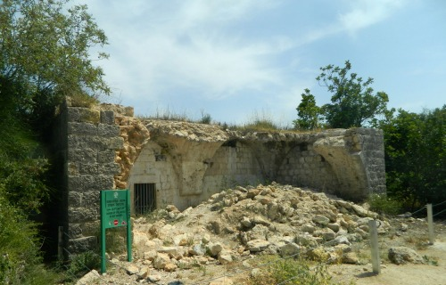 Ruins in the area of Har HaTayassim