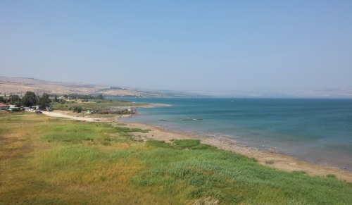 A view of the Kinneret