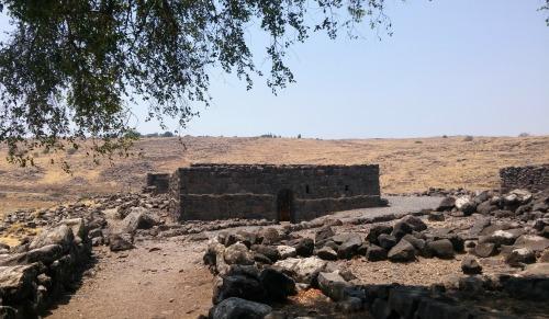 Basalt ruins of Korazim
