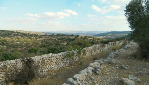 Double wall circling Qeiyafa