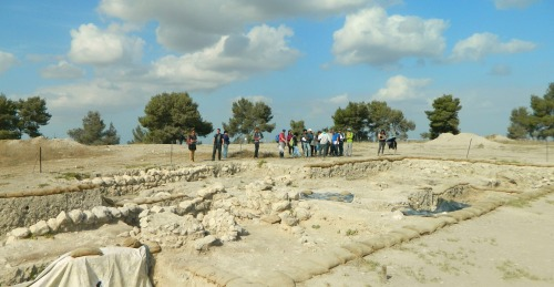 Hellenistic palace of Tel Azeka