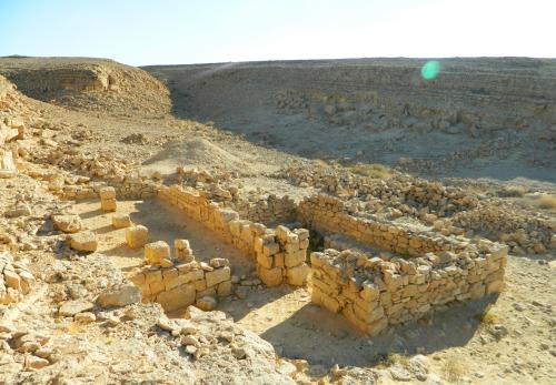 Nabatean ruins